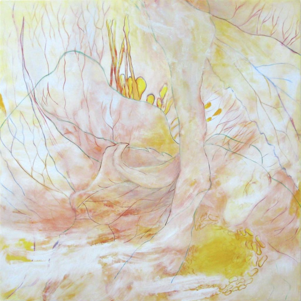 Toxic Garden 3 (Hellibore), 2011, oil on linen 48x 48 inches.