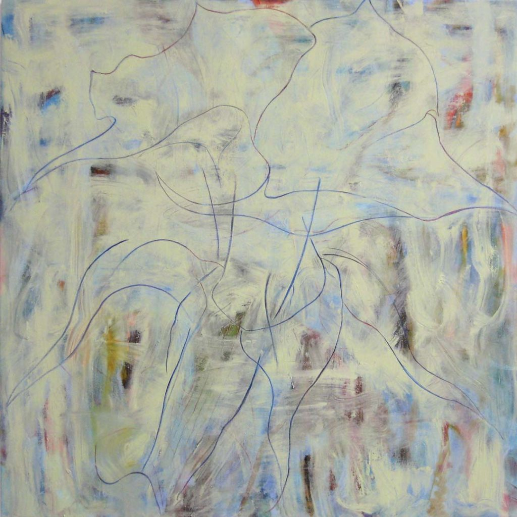 Toxic Garden 4 (Brugmansia), 2011, oil on linen 48x 48 inches